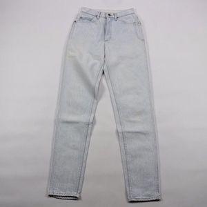 Vintage Lee High Waisted Skinny Mom Jeans Size 7